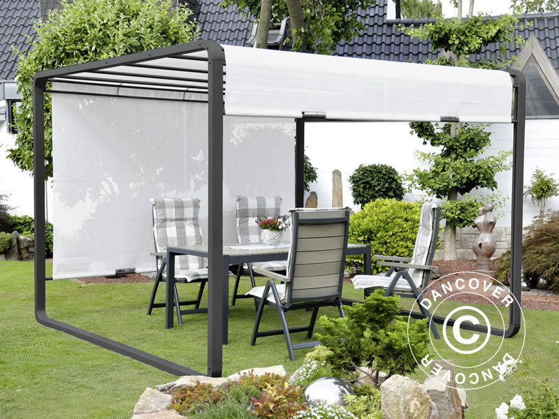 Garden gazebos for occasional and permanent use