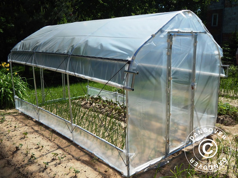 Polytunnel greenhouses are more affordable