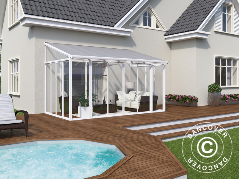 Polycarbonate conservatories