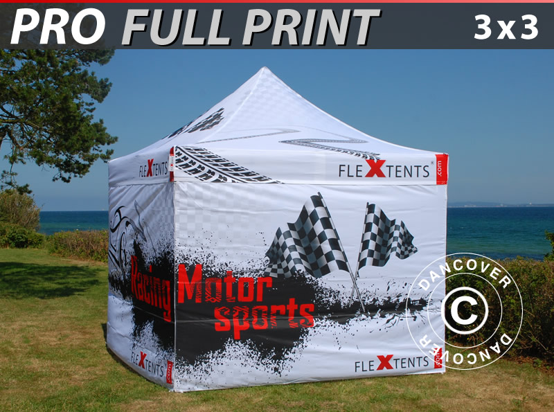 Full Digital Printed Gazebos