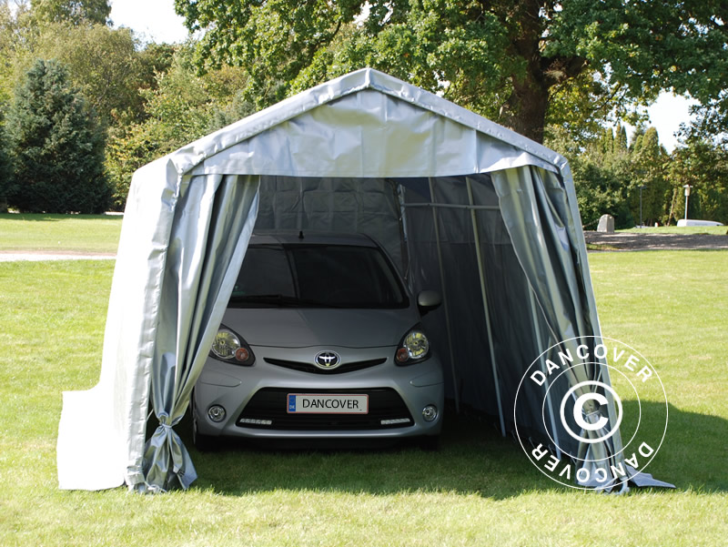Portable garage is the flexible solution
