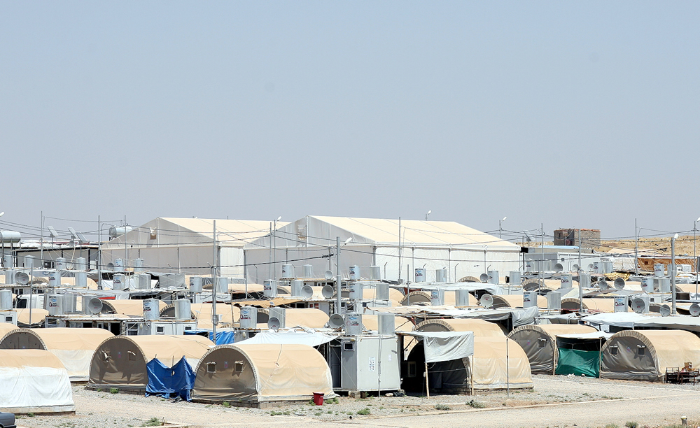 Relief tents and shelters