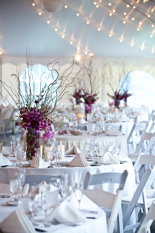 Wedding marquee from Dancover