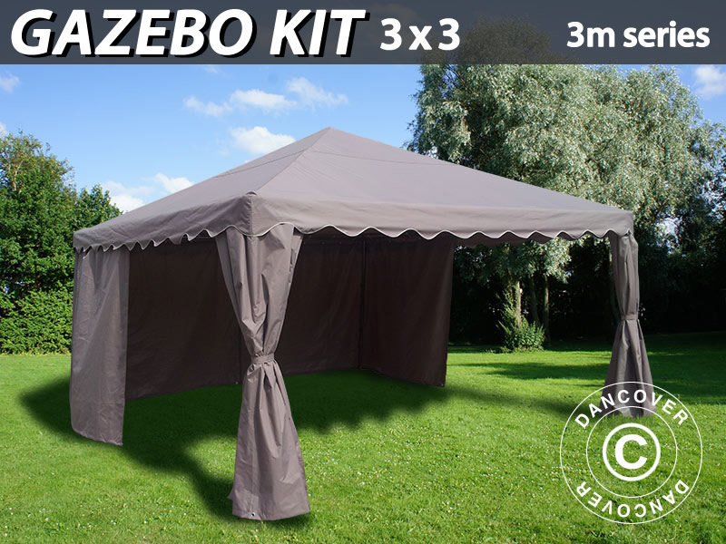 Gazebo kit for the garden