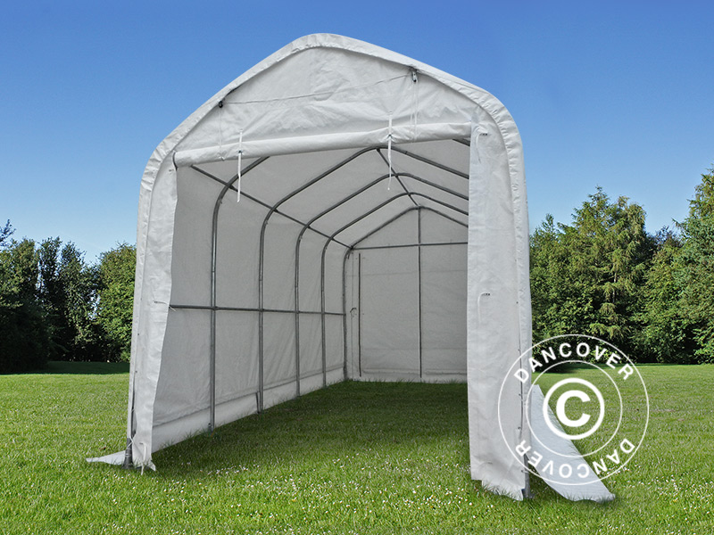 Storage shelter and tents