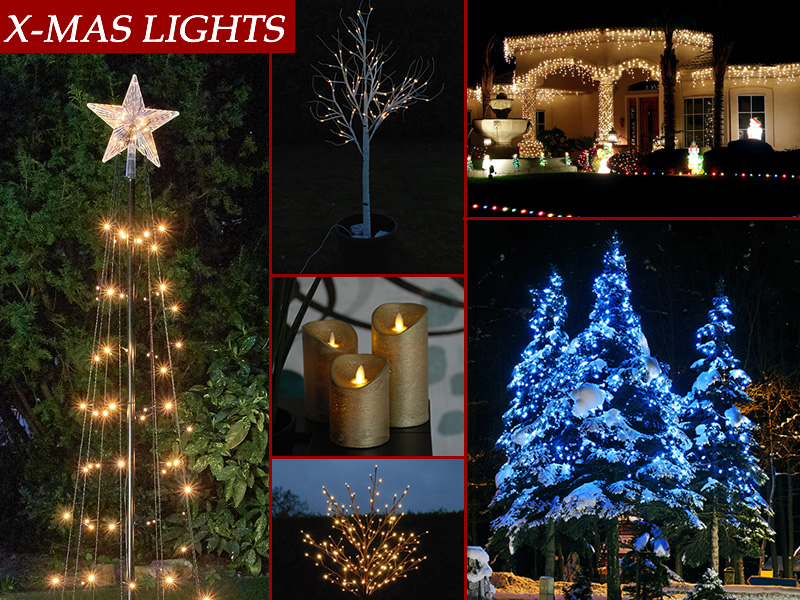 LED light decorations