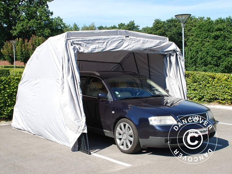 Folding garage for cars and motorcycles & Folding garage - portable foldable and flexible car protection