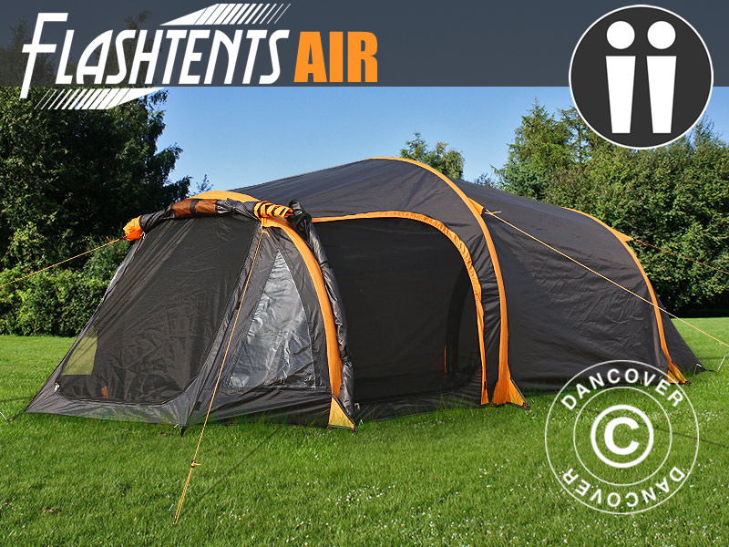Air tents make camping easy