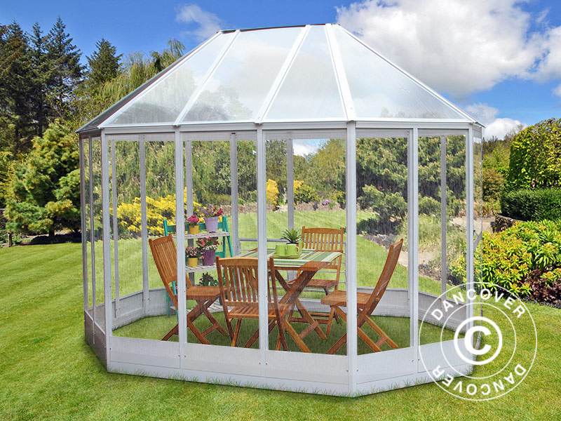 Orangery as a garden gazebo