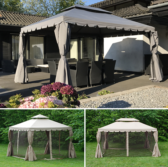 Elegant gazebo for great style