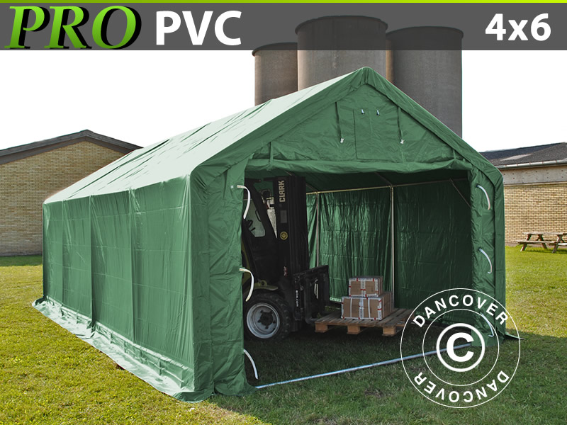 Storage tents and storage shelters