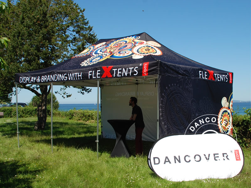 Event equipment with digital print