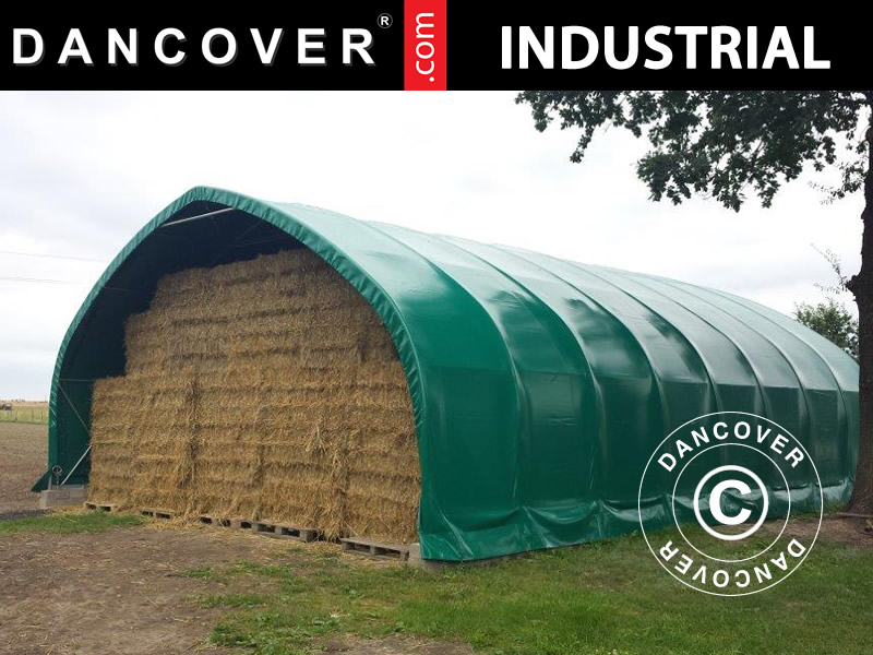 Arched tents and storage tents from Dancover