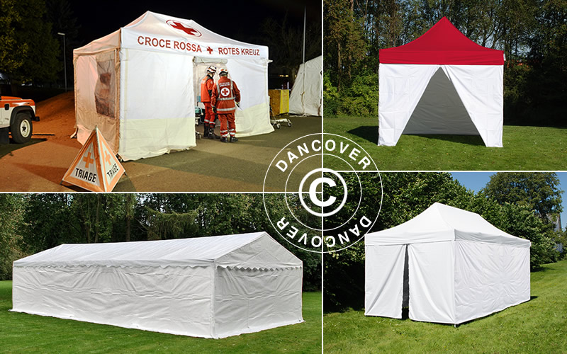medical tents from Dancover