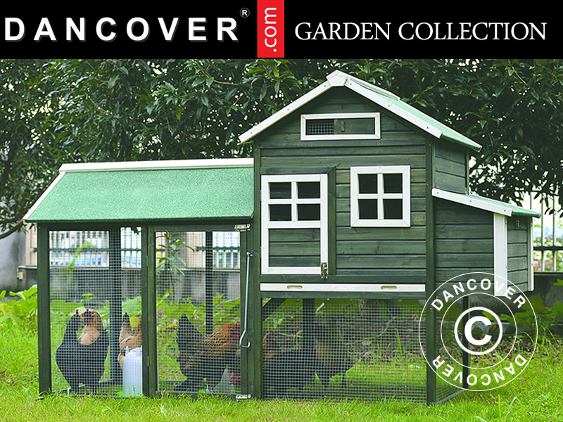 Hen house or chicken coop for your garden