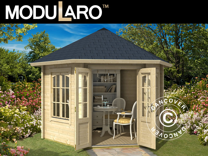 Wooden garden gazebo from Dancover