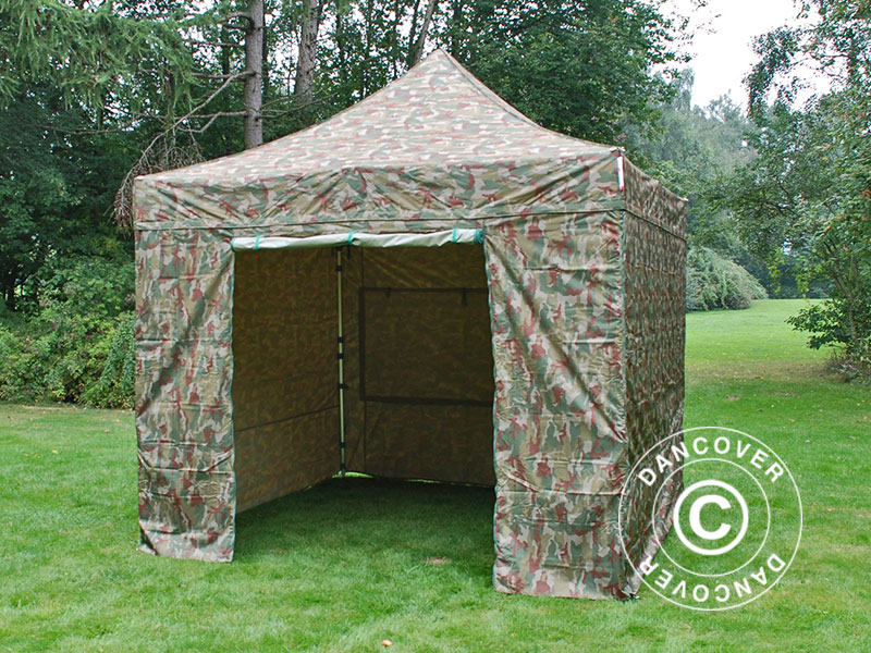Camouflage tents and other camouflage products