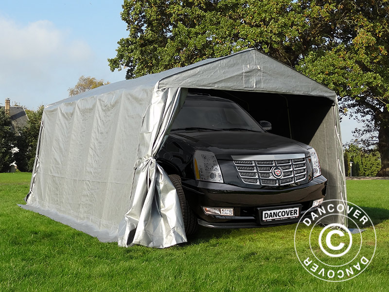 Portable garages for all kinds of vehicles