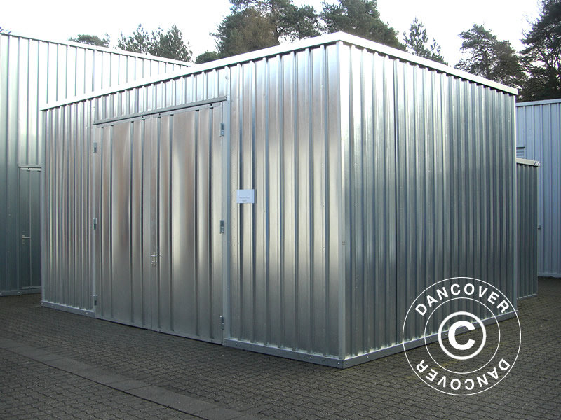 Steel warehouse for multiple purposes