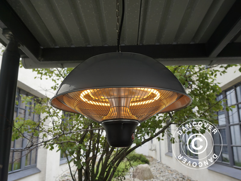 Hanging patio heater for the marquee and more
