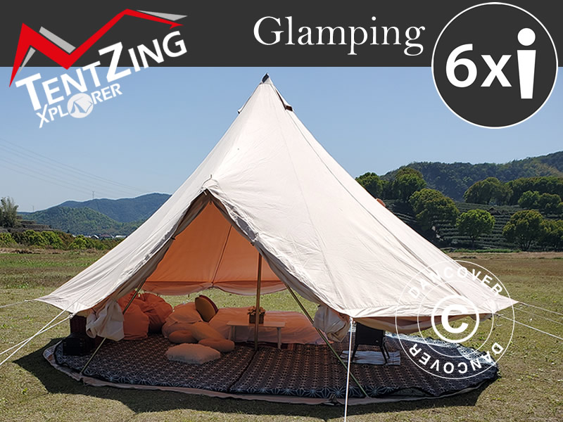 Beautiful bell tents for glamping