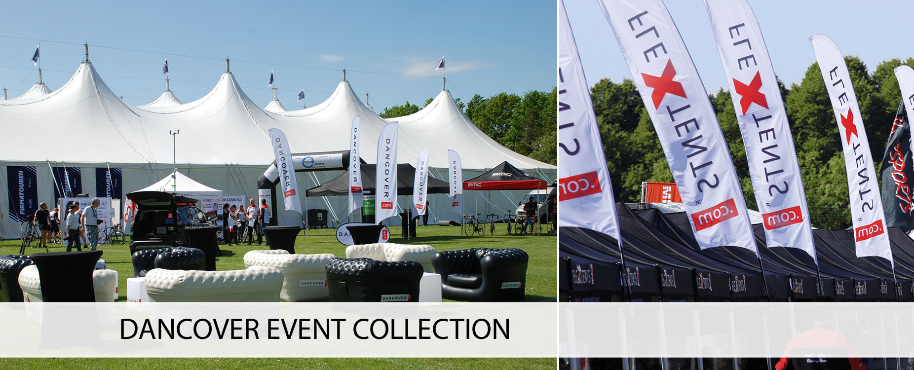 Folding gazebos, event furniture, event accessories etc.