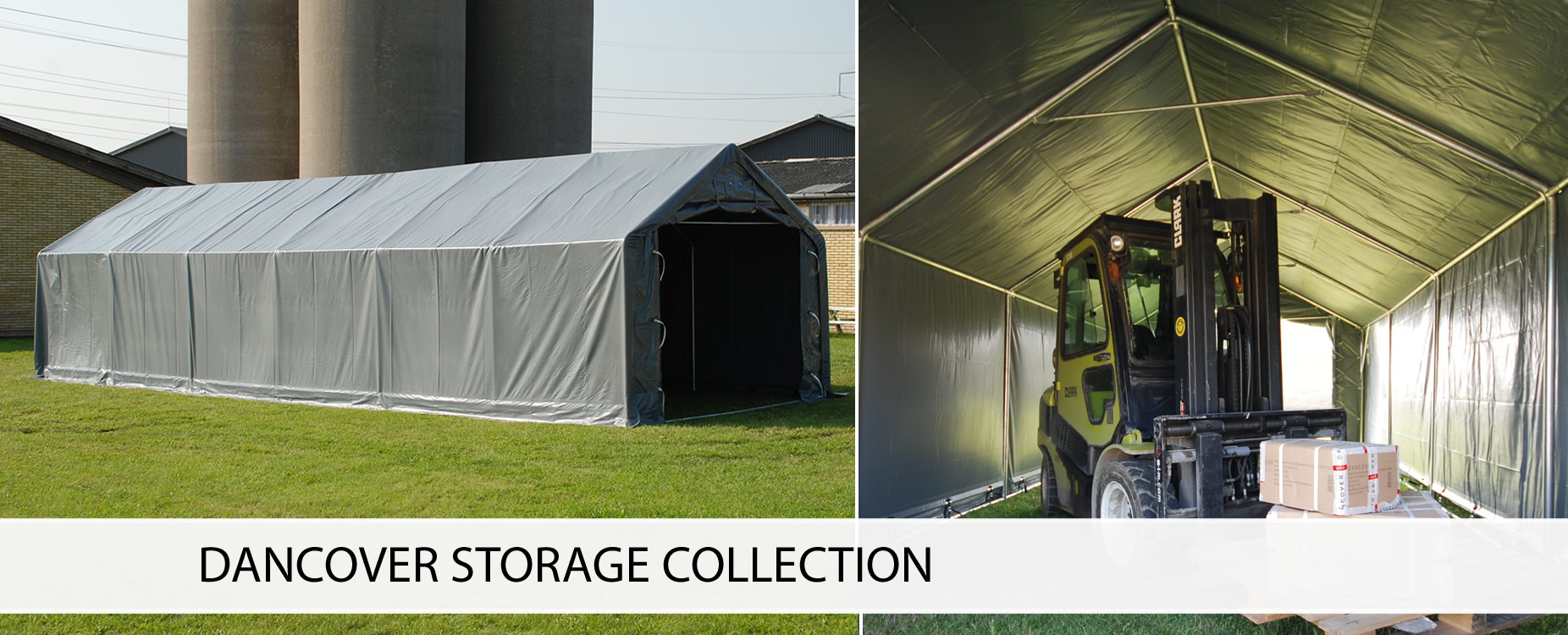 Storage shelters & storage tents