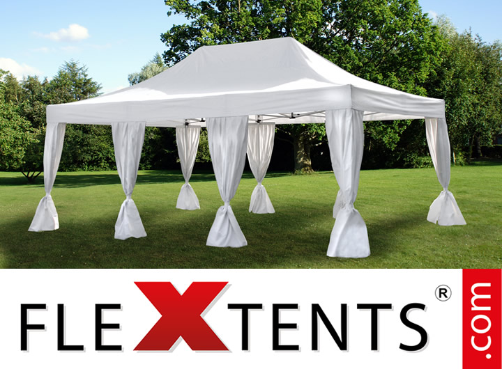 Flextents pop-up canopies